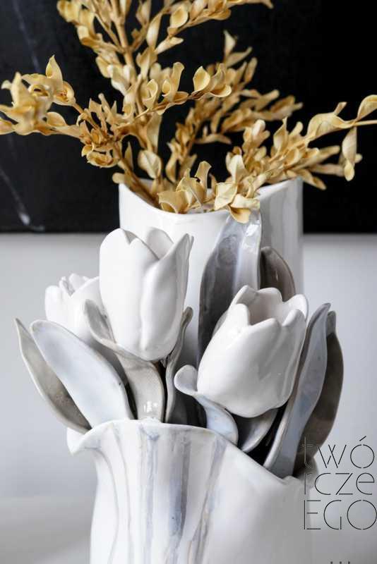 Wazon tulipany w kieszonce