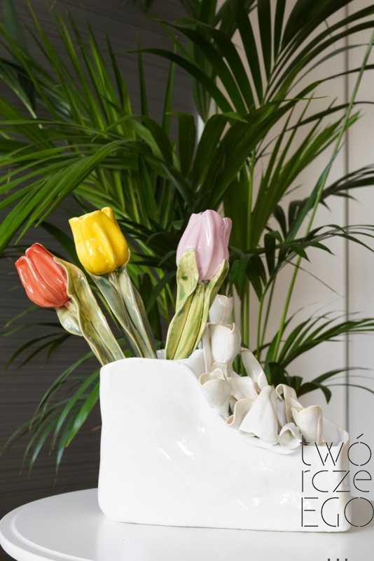 Wazon tulipany koperta