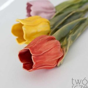 Tulipan ceramiczny