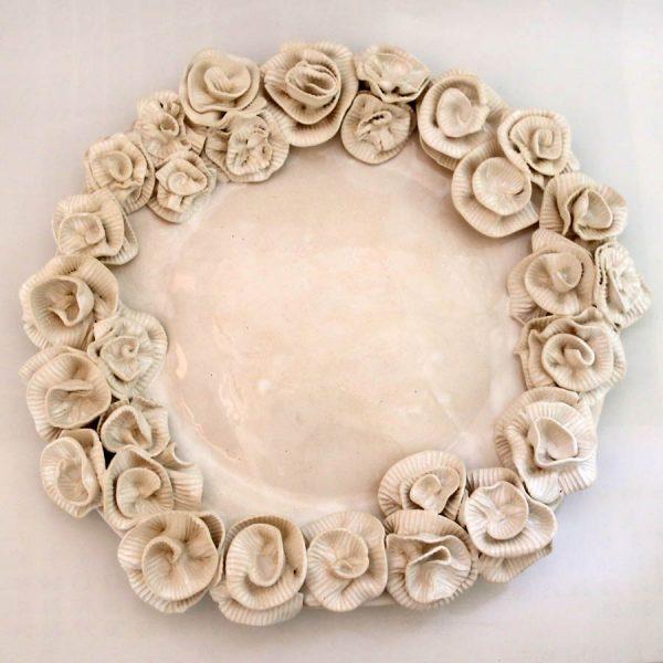 Patera róża karbowana