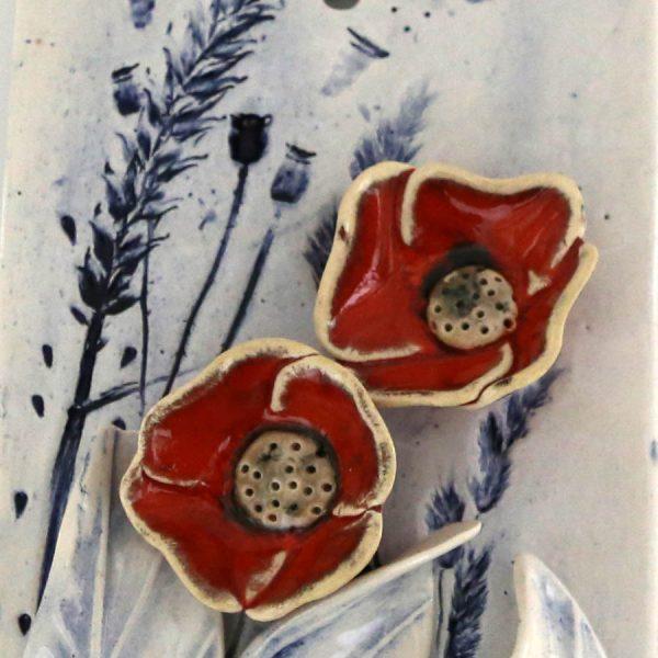 Obrazek kwiaty (czerwony)