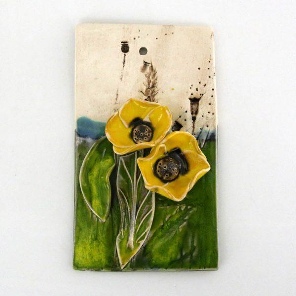 Obrazek kwiaty (żółty)