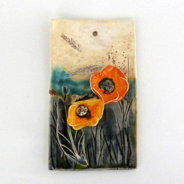 Obrazek kwiaty (pomarańczowy)