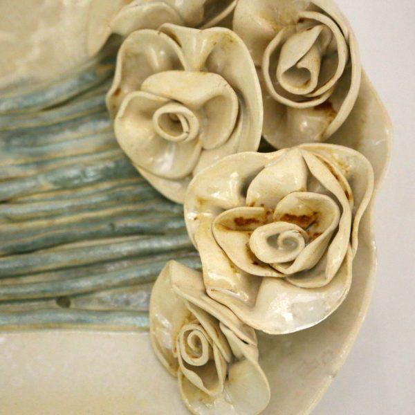 Patera bukiet róż